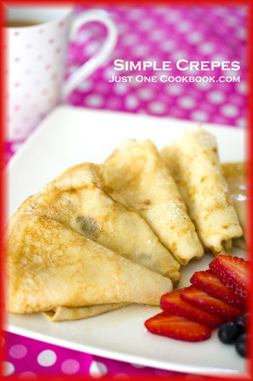 Simple Crepes Recipe | JustOneCookbook.com