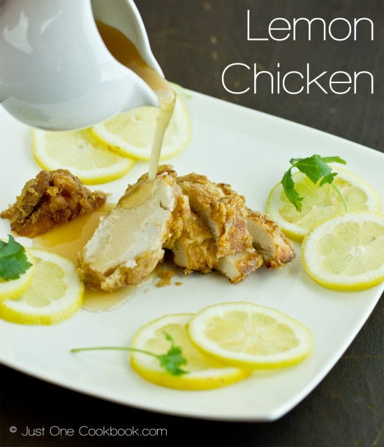 Lemon Chicken Recipe | JustOneCookbook.com