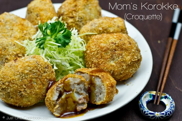 Japanese Croquette Recipe | JustOneCookbook.com