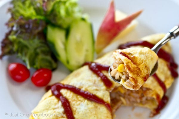 Omurice (Japanese Omelette Rice) | Easy Japanese Recipes at JustOneCookbook.com