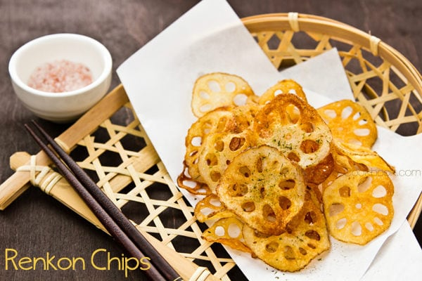Renkon Chips Recipe | JustOneCookbook.com