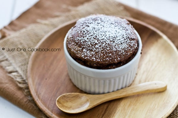 Chocolate Souffle | Just One Cookbook.com