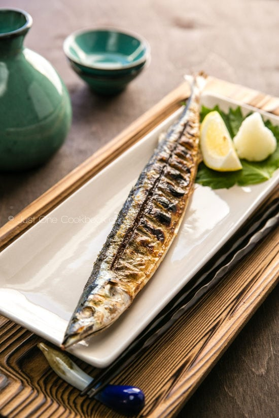 Grilled Sanma | Just One Cookbook.com