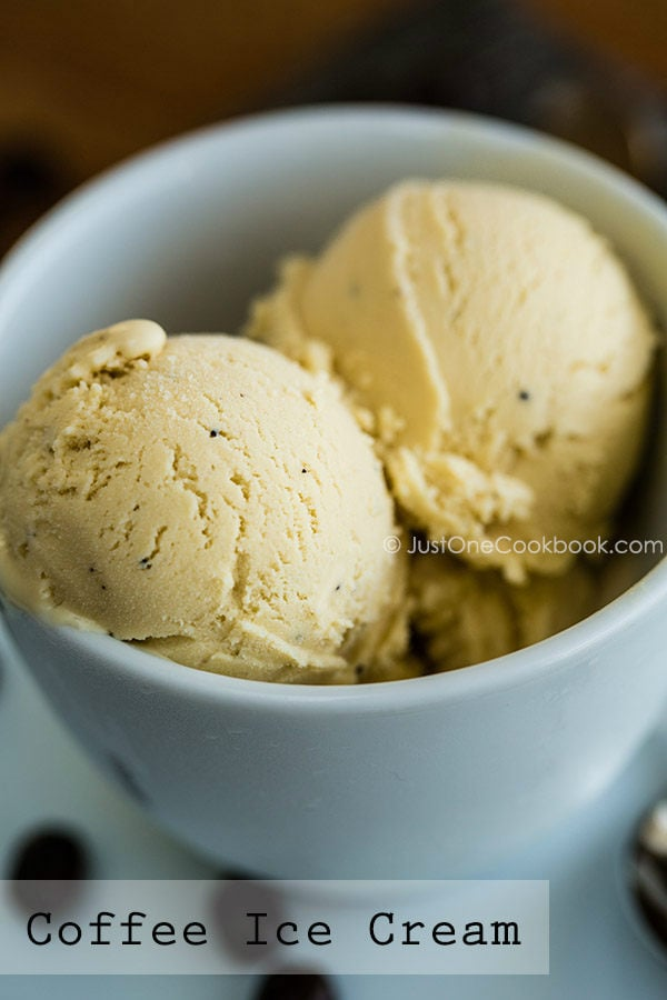 Coffee Ice Cream | Easy Japanese Recipes at JustOneCookbook.com