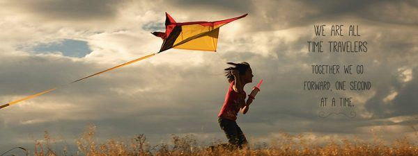 Folgers kite flying banner