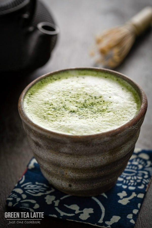 Green Tea Latte | Easy Japanese Recipes at JustOneCookbook.com